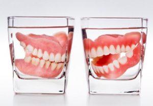 ทำฟันเทียม และวิธีทำความสะอาด
